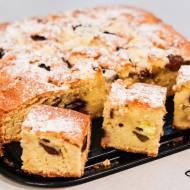 Szybkie ciasto z owocami