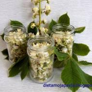 Nalewka z kwiatów kasztanowca