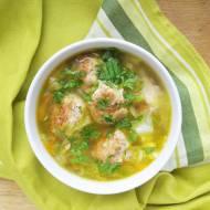 Zupa z młodej kapusty z pulpecikami / Young Cabbage Meatball Soup