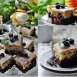 Ciasto czarno białe