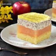 Ciasto straciatella i jabłecznik