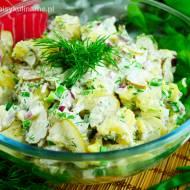 Najprostsza sałatka ziemniaczana (Kartoffelsalat)