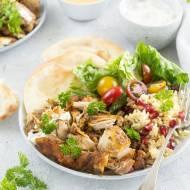 Shawarma z kurczaka z aromatycznym ryżem