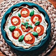 Tarta z ciasta francuskiego z serem Ricotta