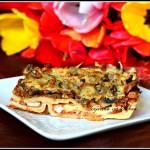 Lasagne z indykiem