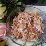 Surówka z rzodkiewki i marchewki