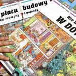 Na placu budowy i Nie ma jak w domu - recenzja książeczek obrazkowych dla dzieci
