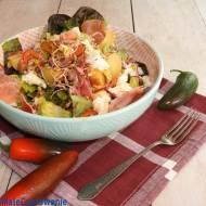 Sałatka z ziemniaków i prosciutto