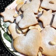 Kruche ciasteczka z masłem orzechowym i syropem z agawy