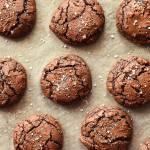 Ciasteczka Brownie z solą morską