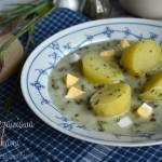 Zupa szczawiowa z ziemniakami – kuchnia podkarpacka