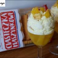Deser Ananasowy z Ciasteczkami