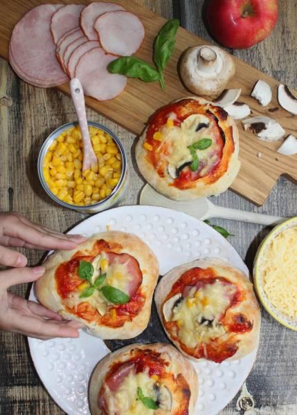 Pizzerinki – pyszne mini pizze