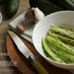 Fałszywe ogórki małosolne – kuchnia podkarpacka