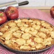 Tarta z jabłkami.