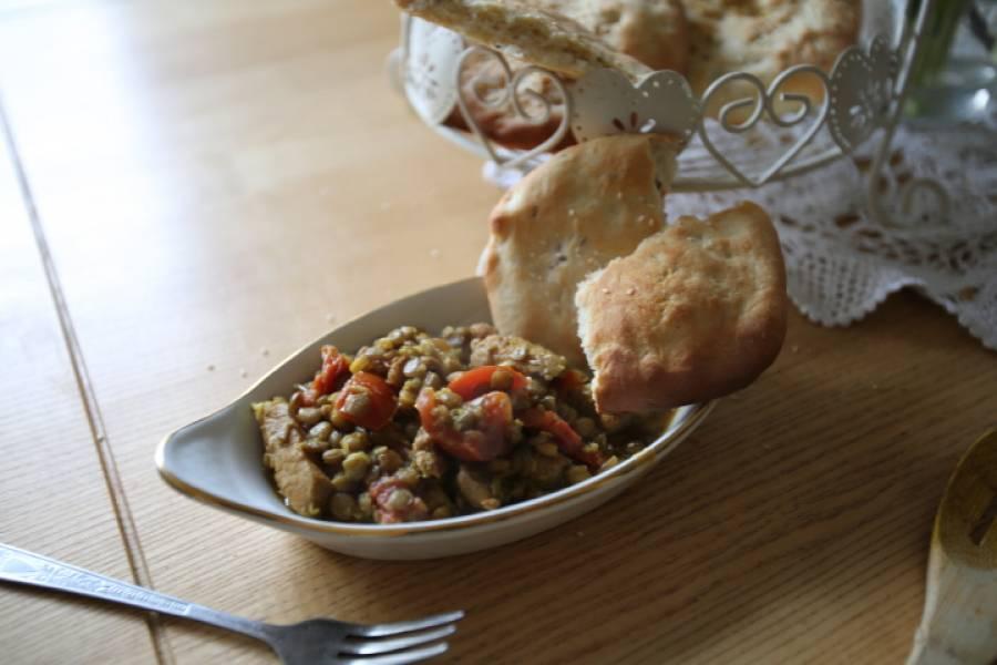 Curry z soczewicy zielonej, zdrowo i pysznie