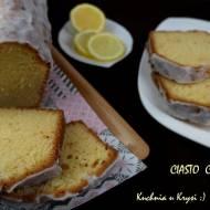 Cytrynowe ciasto... aromatyczne, wilgotne, puszyste