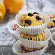 Keto muffinki z borówkami (Paleo, LowCarb)