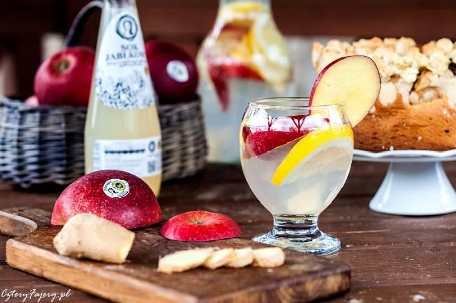 Lemoniada z imbirem