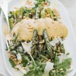 Zielone szparagi w sosie fagiolata