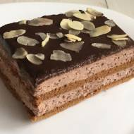 Ciasto kakaowe bez pieczenia z mascarpone