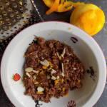 Włochy - Czekoladowy ryż z Mesyny (Riso nero alla messinese)