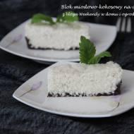 Blok miodowo-kokosowy na czekoladzie