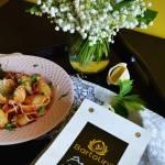 Makaronowe muszle z szynką i pomidorami oraz moja opinia o internetowym sklepie Bee.pl