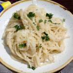 Spaghetti al limone/Spaghetti z sosem cytrynowym