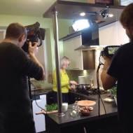 """Mój pierwszy występ przed kamerą TV """"Co na obiad?"""""""