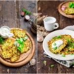 Placki z cukinii / Zucchini pancakes