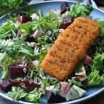 Ryba w panierce z bułki i sera