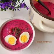 Chłodnik litewski -szybki obiad na upalny dzień
