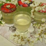 Domowy syrop na kaszel z kwiatów akacji - Robinia Akacjowa Syrop