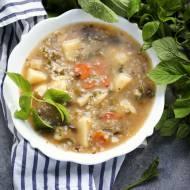 Zupa z podagrycznikiem – tania i zdrowa