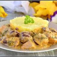 Kurczak z oliwkami