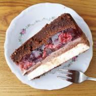 Ciasto Gaja bez pieczenia z Nutellą i truskawkami / No Bake Nutella and Strawberries 'Gaia' Cake