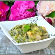 Lekkie zielone curry