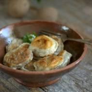 Pierogi z ziemniakami i suszonymi grzybami