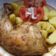 udka kurczaka z piekarnika...