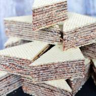 Wafle kakaowe bez mleka w proszku  – tradycyjny krem do wafli