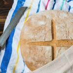 Chleb Pszenno Żytni Na Zakwasie I Z Drożdżami
