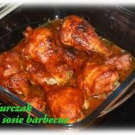 Kurczak pieczony w sosie barbecue