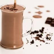Przepis na zdrowy koktajl czekoladowo – malinowy