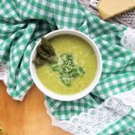 Zupa szparagowa z parmezanem / Asparagus Parmesan Soup