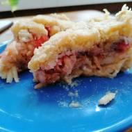 Miałam mało czasu a zatęskniłam za jabłecznikiem -szybkie ciasto bez jajek