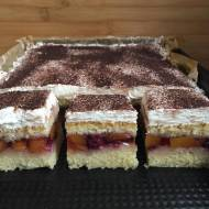Ciasto owocowa fantazja