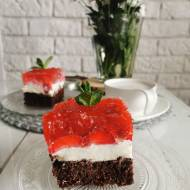 Ciasto z galaretką i mascarpone