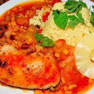 Karaibski kurczak, pomysł na obiad