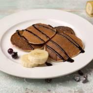 Placuszki śniadaniowe bananowo – kakaowe
